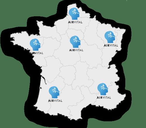 carte france airvital