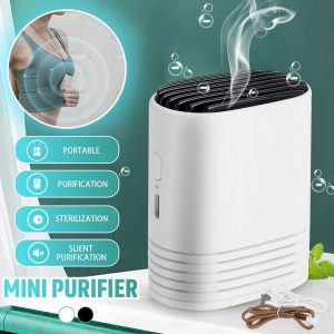 Mini purificateur d'air nettoyant Ion négatif USB Mini maison véhicule purificateur d'air Portable personnel Portable collier Anion assainisseur d'air