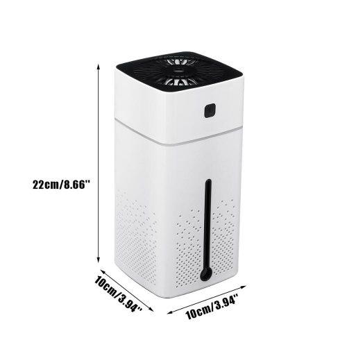 Purificateur d'air domestique arômes essentiels diffuseur d'huile 7 couleurs LED veilleuse purificateur bureau voiture chambre ultrasons USB changement