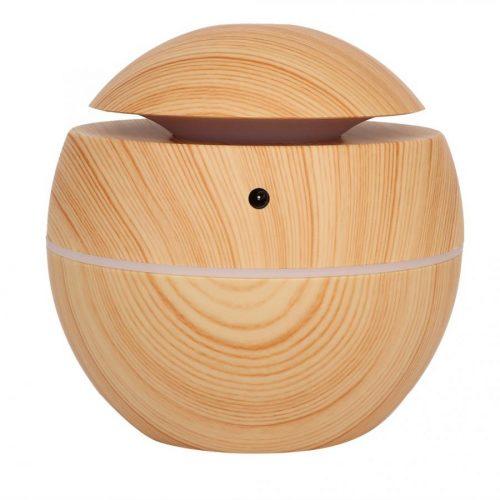 Humidificateur de diffuseur d'arôme Rechargeable d'usb de forme de boule ronde d'épurateur d'air