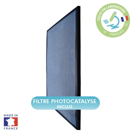 Filtre photocatalyse