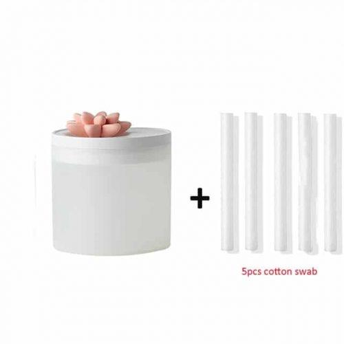 humidificateur grande capacité 800ml USB ultrasons Lotus humidificateur arôme diffuseur Cool brumisateur pour le bureau et le domicile