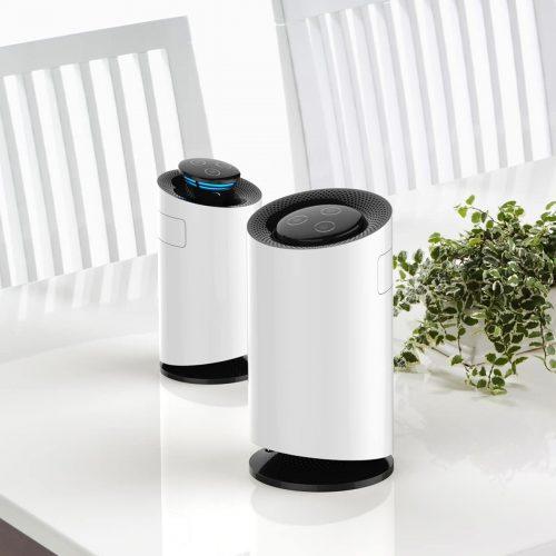 Purificateur d'air de bureau + tueur de moustiques + stérilisateur UVC, désinfection UV et générateur d'ozone