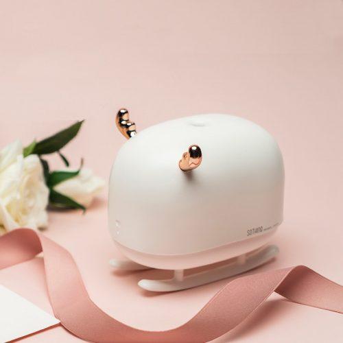 260ML humidificateur à ultrasons traîneau cerf arôme diffuseur USB ultrasons purificateur d'air avec atmosphère chaude nuit brumisateur fabricant maison